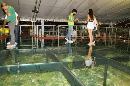 Maquete mostra atrativos turísticos da Bahia no Festival de Verão