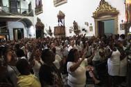 Igreja do Rosário dos Pretos lota na última Terça-Feira