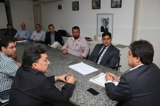 Setur e entidades agropecuárias discutem projeto do novo Centro de Convenções